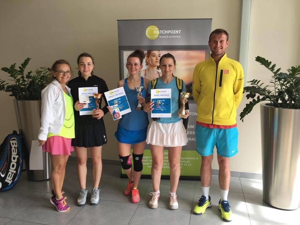 Pani Lucyna Glos i Pan Lucjan Walkowicz zwycięzcami Tenisowego Turnieju Matchpoint