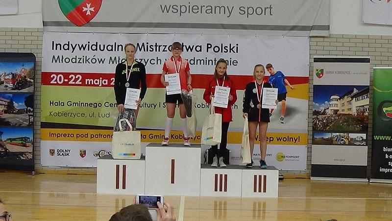 Indywidualne Mistrzostwa Polski Młodzików Młodszych w Badmintonie 20-22 maja 2016 podziękowania i relacja