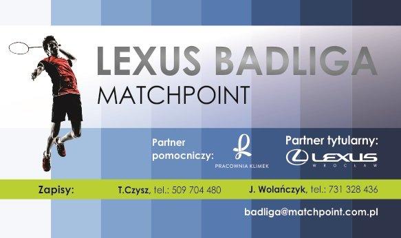 8. kolejka Ligii LEXUS Badmintona