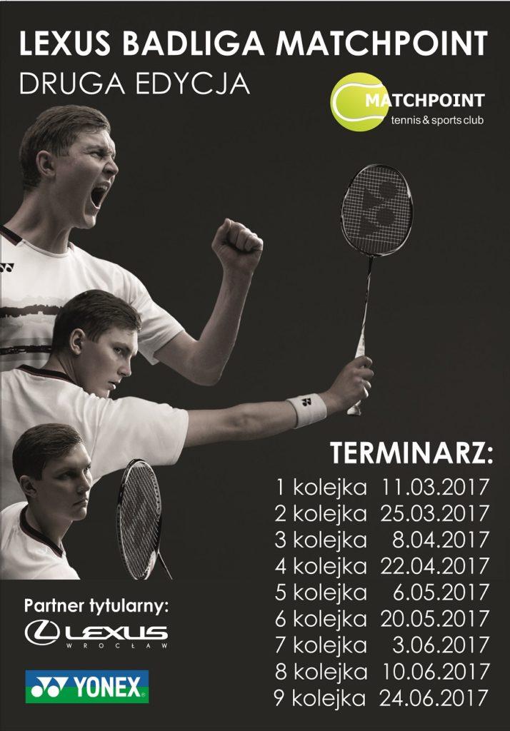 Lexus Liga Badmintona – 8 kolejka drugiej edycji