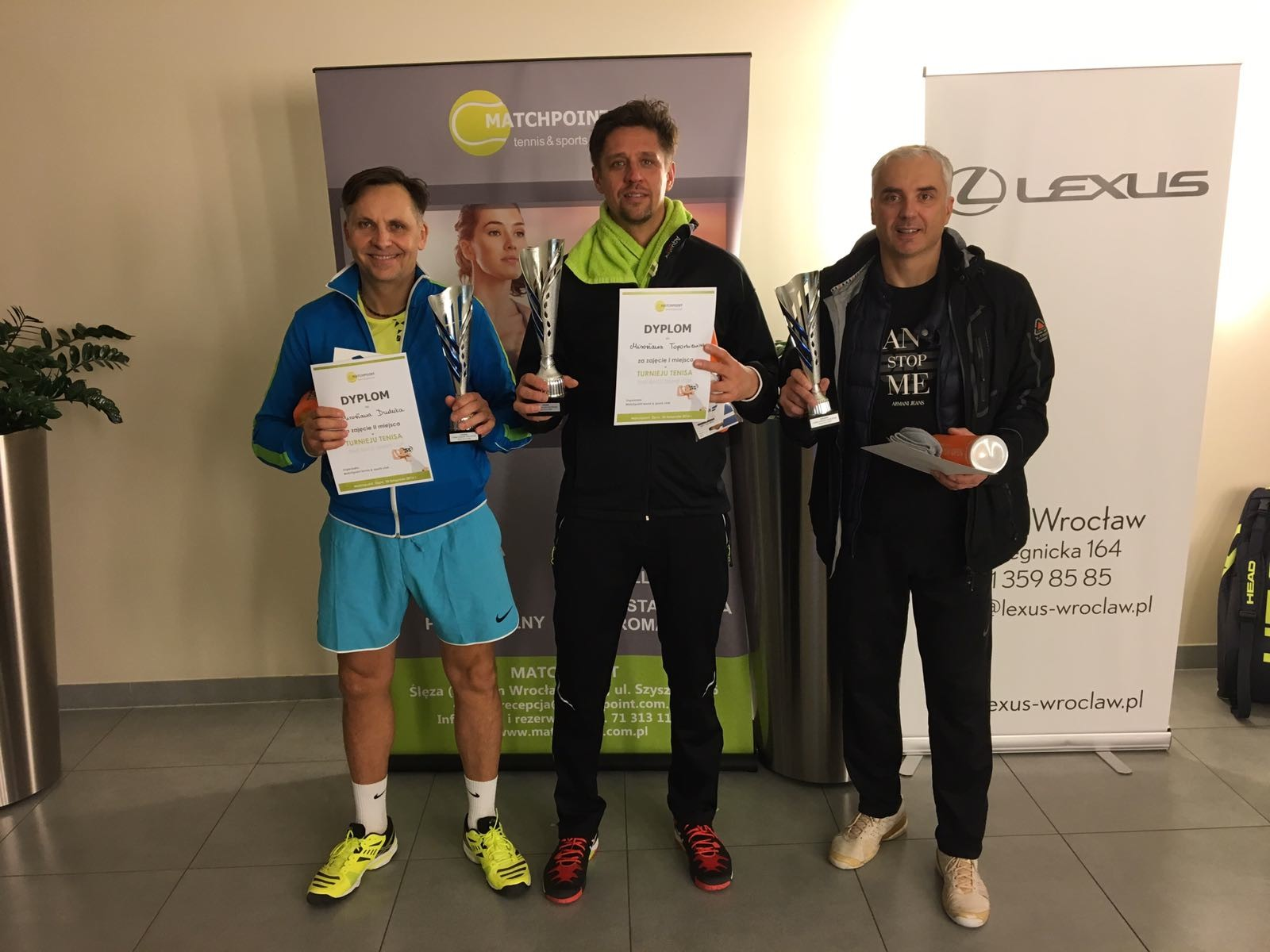 """Anna Leśnikowska i Mirosław Toporkiewicz zwycięzcami Turnieju Tenisa """"Time Race Tennis Cup by Matchpoint!"""""""