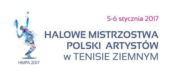 Halowe Mistrzostwa Polski Artystów w Tenisie Ziemnym 5-6.01.2017 – relacja