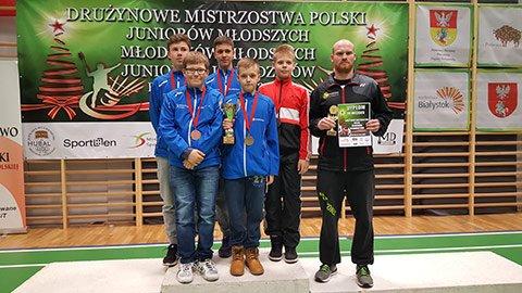 Brązowy Medal Drużynowych Mistrzostw Polski Młodzików w Badmintonie 2016