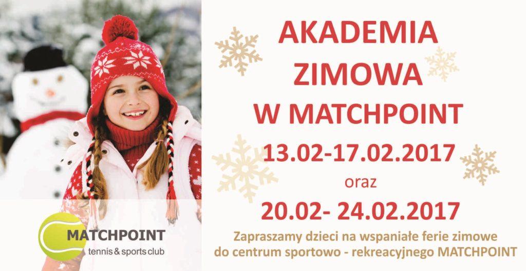 Akademia Zimowa w Matchpoint