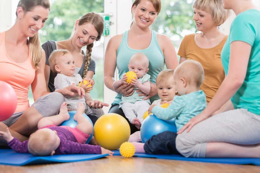 Zapraszamy na nowe zajęcia fitness dla MAM i ich POCIECH – od października!!!