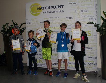 Dolnośląski Cykl Turniejów Tenisa – Wyniki Turnieju MASTERS